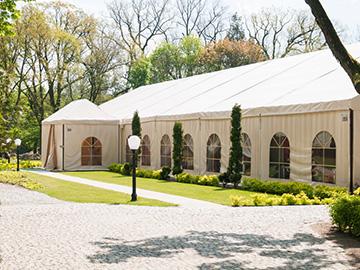 Namiot bankietowy z salą weselną Ostrów Wielkopolski