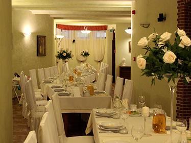 Sala restauracyjna na chrzciny