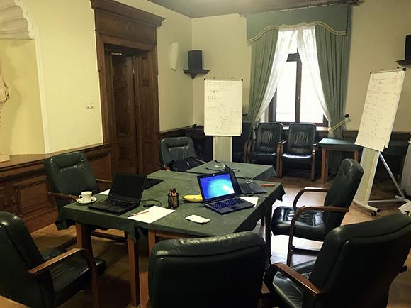 Wynajem sali na spotkania firmowe